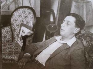 Robert Desnos lors d'une séance de sommeil hypnotique