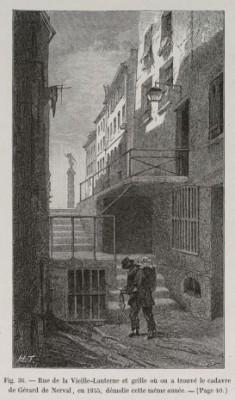 Illustration extraite de «Paris à travers les âges» de Theodor Josef Hubert Hoffbauer (Firmin-Didot et cie, 1885)