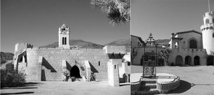 Le Scotty's Castle, véritable castello construit en plein désert de Mojave, a été l'une de mes sources d'inspiration pour planter le décor des derniers chapitres. À noter que cet étonnant édifice, érigé dans le courant des années vingt, a servi de modèle pour le film « Castle in the Desert » en 1942, qui met en scène Charlie Chan, le détective créé par Earl Derr Biggers, mais aussi pour le roman « The Doomsday Men » de J. B. Priestley en 1937 (« Quand sonnera l'heure », collection Marabout no 29)