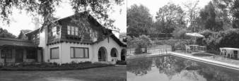 La maison style Tudor de Tod Browning, sise au 808 North Rodeo Drive, en face du Beverly Hills Hotel
