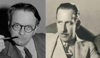 L'écrivain Raymond Chandler (à gauche) et le cinéaste Tod Browning (à droite). À ma connaissance, les deux ne se sont jamais rencontrés