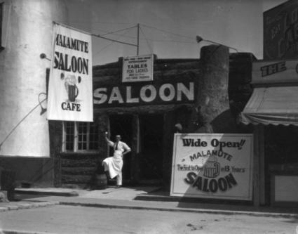 Le « Malamute Saloon », le premier bar de Los Angeles à rouvrir après l'abrogation de la Prohibition