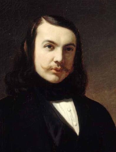 Théophile Gautier par Auguste de Châtillon (1839)