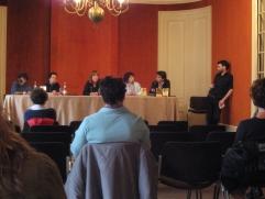 Rencontre avec les lecteurs de la librairie Mollat (Bordeaux) en 2008, quelques semaines après la sortie du «Fantôme de Baker Street» et des «Portes du sommeil». En compagnie de Viviane Moore, Emmanuelle Heurtebize et du duo Liliane Korb/Laurence Lefèvre (alias Claude Izner).