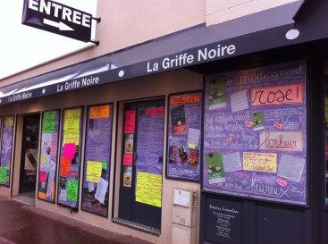 Librairie La Griffe noire à Saint-Maur-des-Fossés.