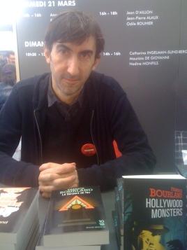 Édition 2015 du Salon du Livre de Paris: séance de dédicace.