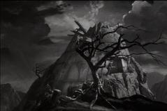 Le laboratoire de feu Frankenstein père, situé à proximité du château. À son tour, le fils va l'occuper plus que de raison